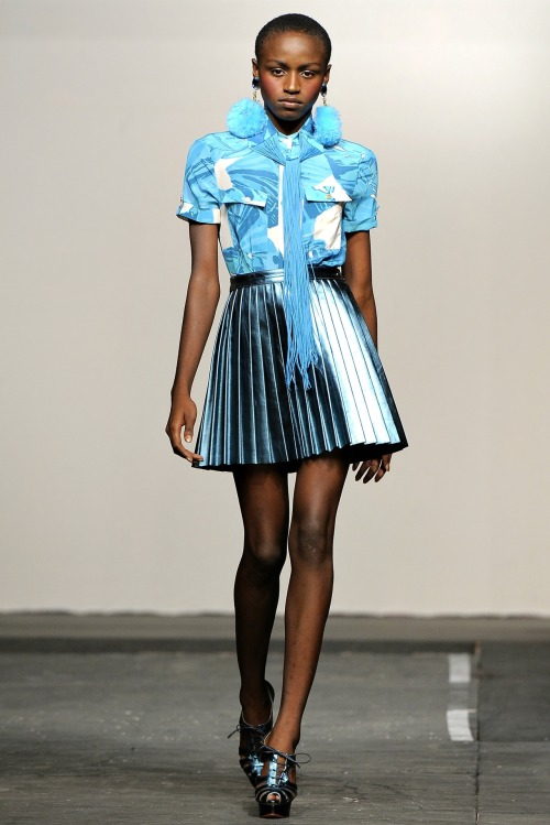 Ashane Rose at House of Holland S/S 2011.