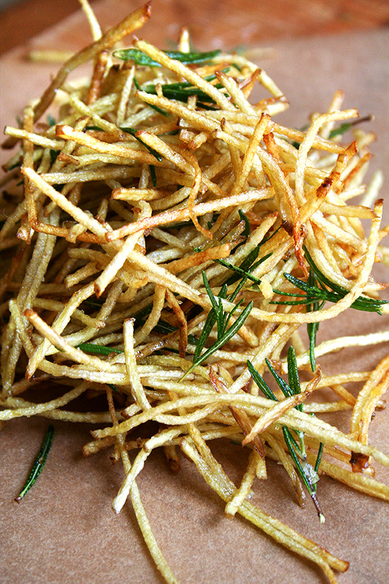 Fries with Lemon Salt and Rosemary