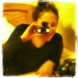@WendiPisconti feliz con su nueva #FishEyeBaby110 de #Lomography! (Taken with Instagram)