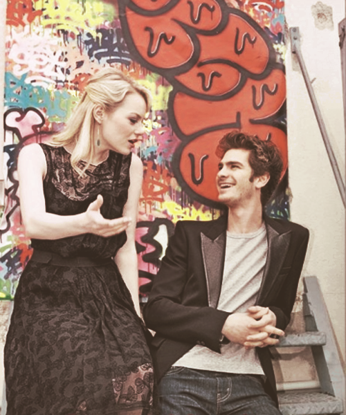 emdrewstonefield:  Andrew Garfield and Emma Stone for Italian Magazine