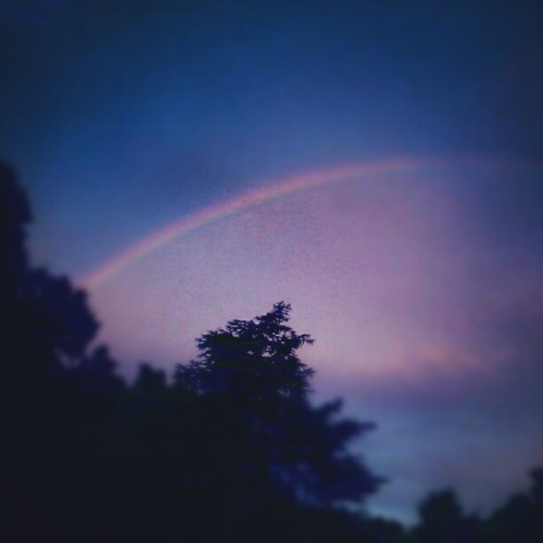 I seen a rainbow (Taken with Instagram)
