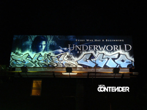 Underworld & graffiti? This is wonderful.