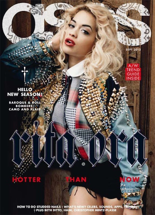 Rita Ora On The Cover Of ASOS Magazine September Issue