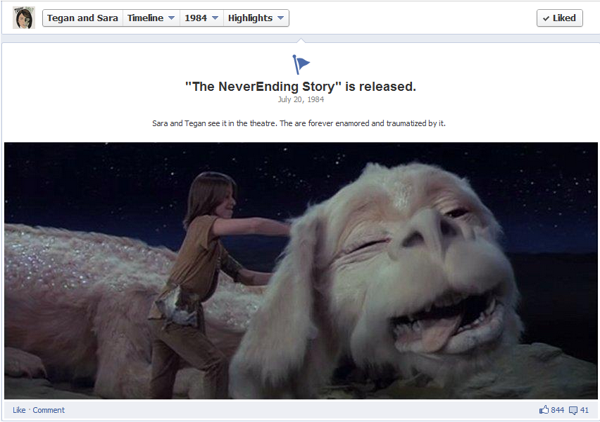 androgynyishot:  Perfect way to describe Neverending Story….haha I LOVE TEGAN & SARA  I cry when the horsey gives up in the swamp. it traumatized me also. i also thought the princess was hot, but that's another story.