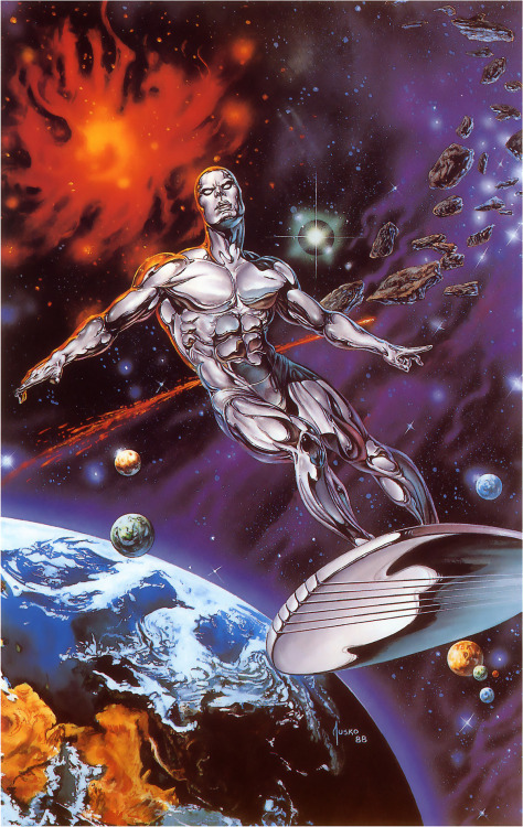 travisellisor:  Silver Surfer by Joe Jusko