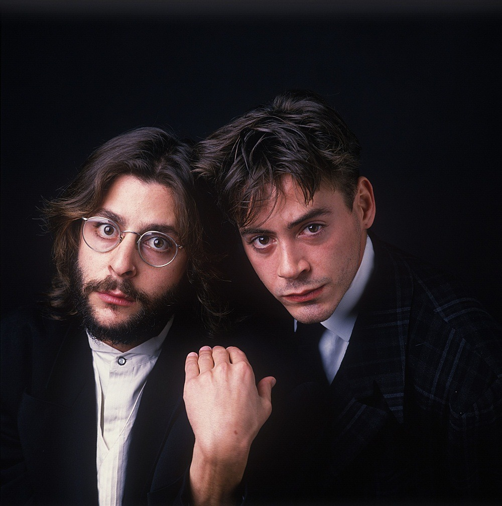 Robert Downey Jr. and Judd Nelson   1988