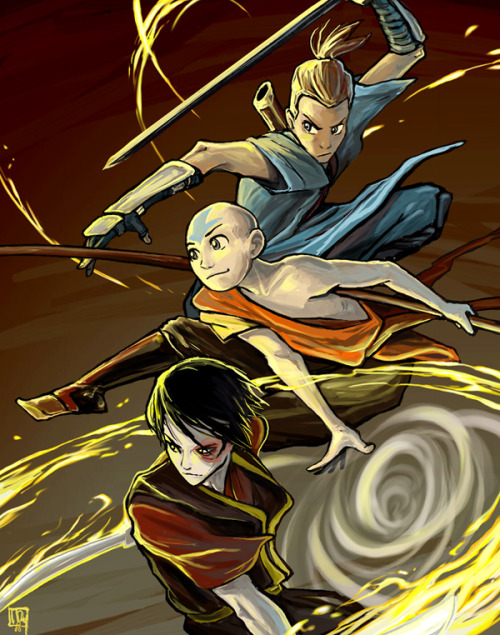 art-of-the-avatar:  Avatar boys by *ming85