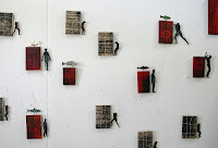 altered books by glen skien silent parrot press (via silent parrot press)