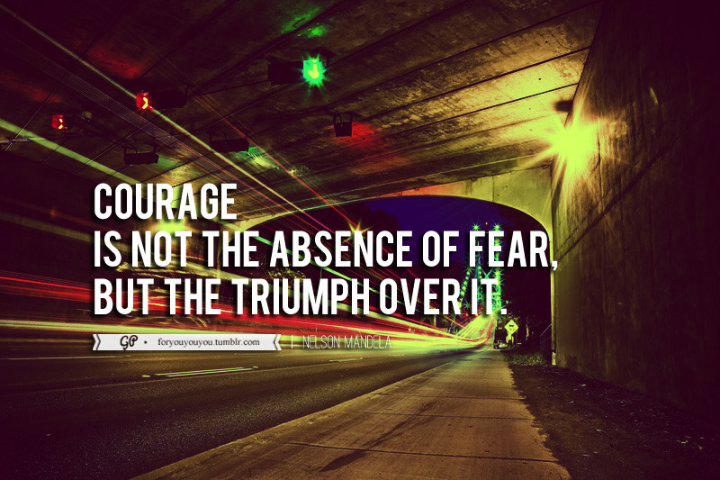 Courageeeeee :) Click here for more from For you & you & you.