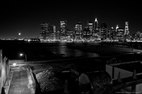 nashishphotography:  Lower Manhattan from Brooklyn