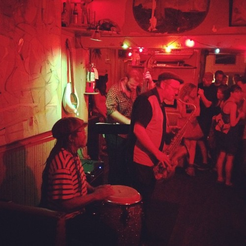 Dave Hillyard and Company (Taken with Instagram at Sunny's)