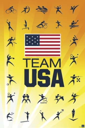 themelodybook:  Go Team USA!  The Melody Book