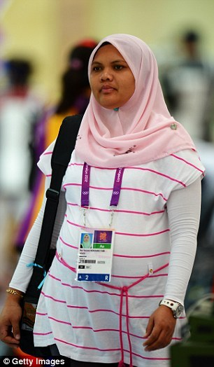 hlaefdigebecena:  jhameia:  zikrayat:  fariyah:  Malaysian rifle shooter Nur Suryani Mohamed Taibi will be 34 weeks pregnant when she competes in the Olympic Games in London.  What is that about Muslim women being oppressed? This sister is SHOOTING RIFLES in HIJAB while BEING PREGNANT. That's not oppressed, that's totally badass! Mashallah!!  Fuck yeah, Malaysia \m/  My hero