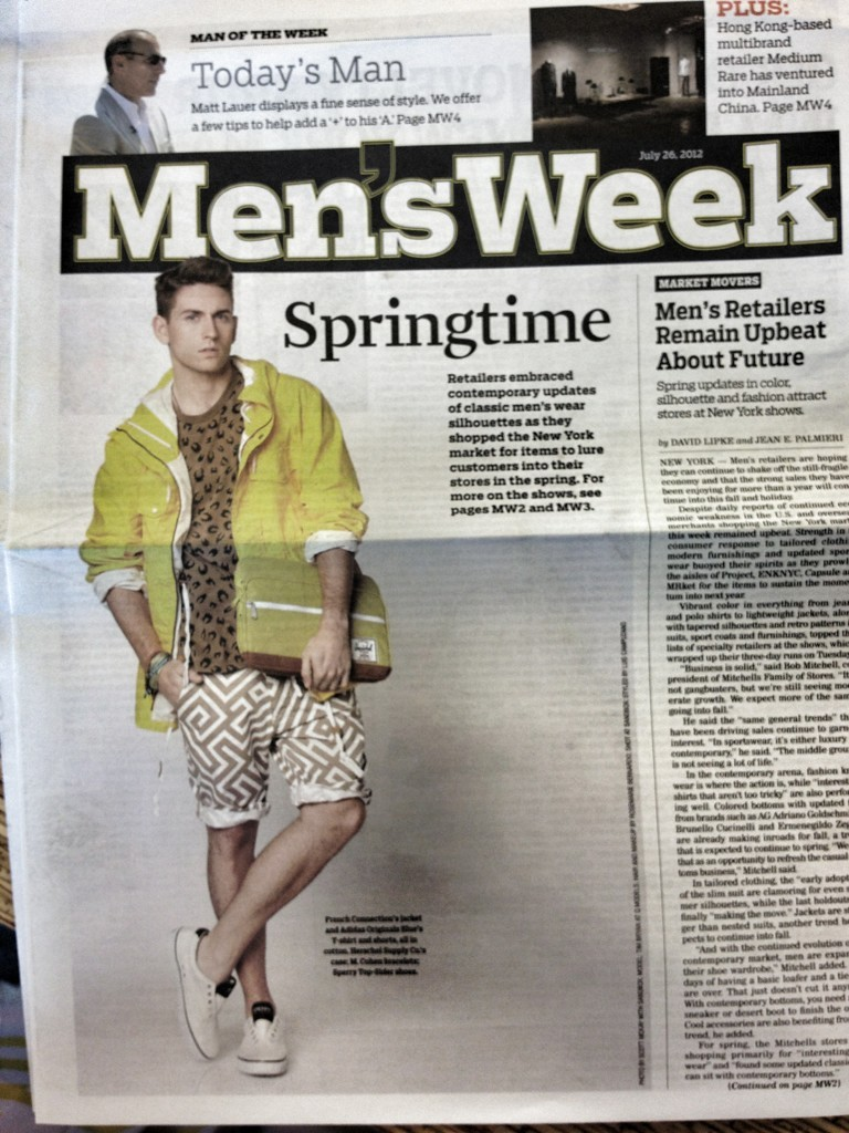 On the cover of WWD :)  —-> @TimBryan3