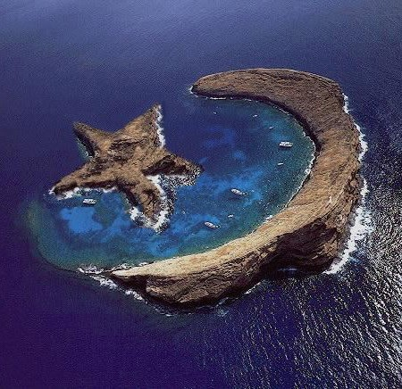 Island of Molokini, Hawaii