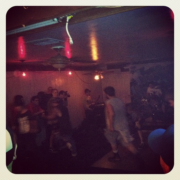 Hardcore show (Taken with Instagram at Maya's Cafe)