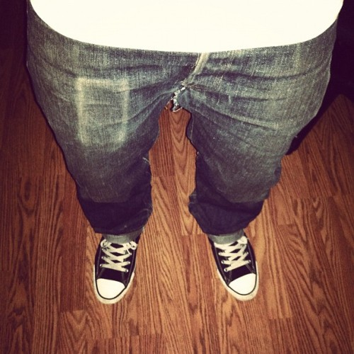 1 year and 3 months tomorrow. #denim #19oz @cesarjalanis  (Taken with Instagram)