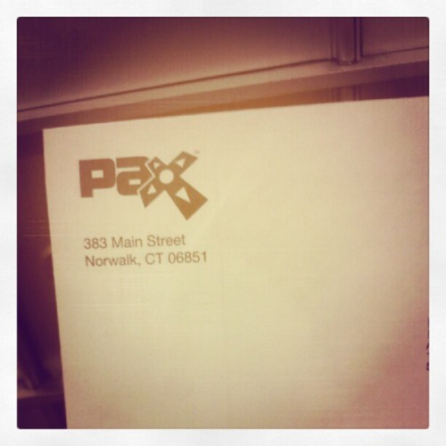 I think I know what this is…. #pax (Taken with Instagram)