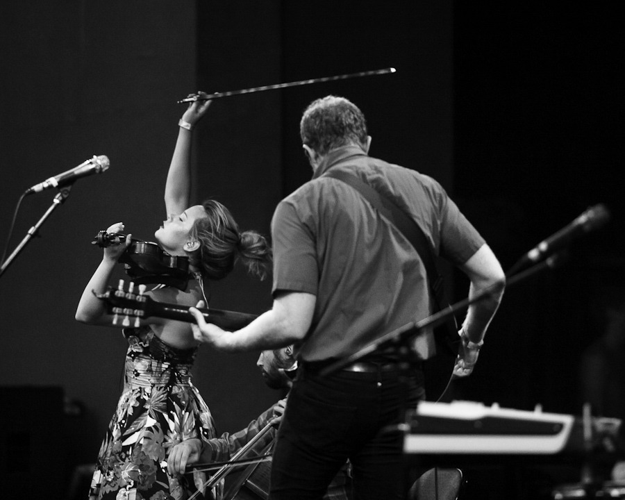 Lost In The Trees at Prospect Park Bandshell, July 27, 2012. © Dominick Mastrangelo