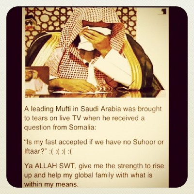 islamicthinking:  Ya Allah SWT give me strength to help my global family. Aameen. (Taken with Instagram)