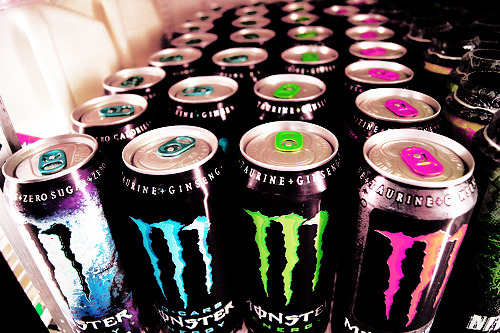 colorful Monster energy!