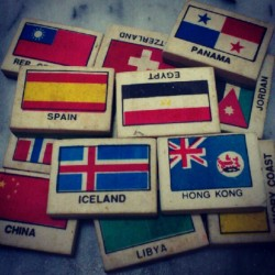 Look what I've found! #eraser #rubber #flag #international #childhood #memories #Singapore (Taken with Instagram)