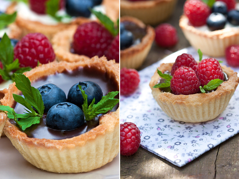 diet-killers:  tartlets-with-chocolate (от Maria Shumova)