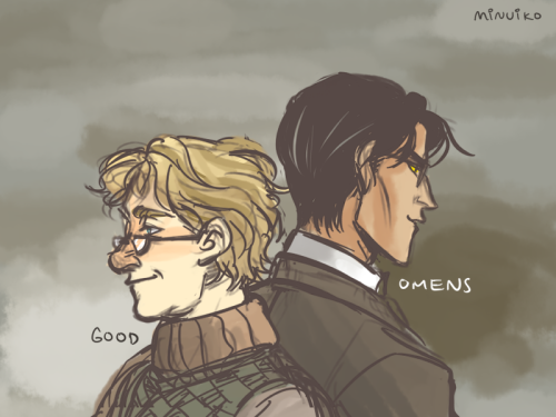 minuiko:  Someone requested Good Omens!