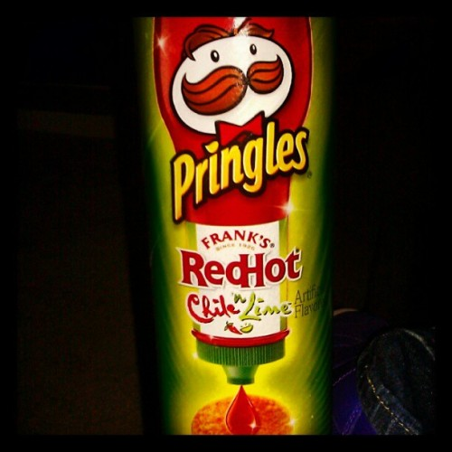 Bomb ass #Pringles  (Taken with Instagram)