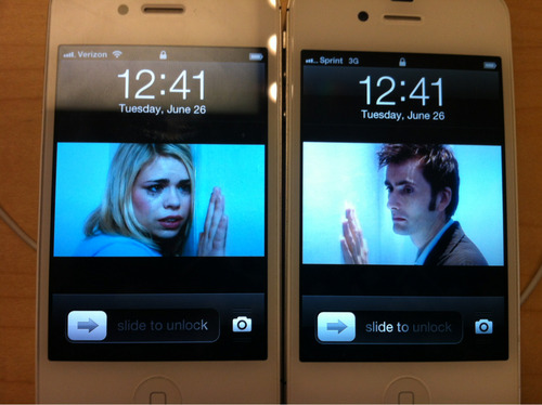 doctorwho:  Doomsday scene recreated with iPhones.  Who would do such a thing?!