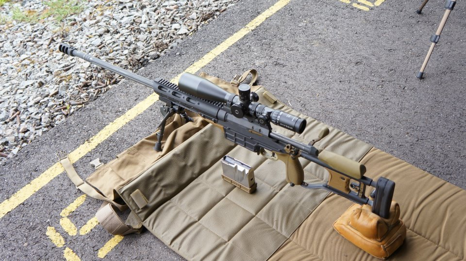 weaponzone:  SAKO TRG M10 Multi Caliber Configurable Sniper Weapon