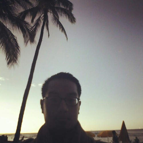 How dark am I (Taken with Instagram at Waikiki Beach)