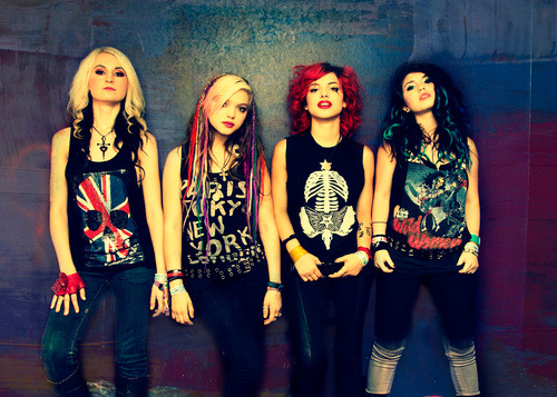 This past week we spoke with Mia from the all girl band Cherri Bomb! Check out the full interview [here]!