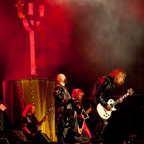oklahomabackroomdancer:  Judas Priest, Wacken Open Air, 2011