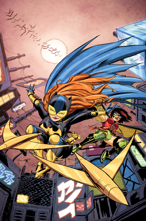 Ame Comi Batgirl Cover by ~greenestreet