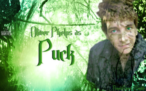 My Iron Fey Dream Cast! Oliver Phelps as Puck
