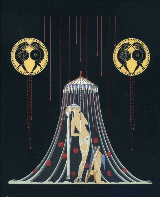 Helen Of Troy by Erté