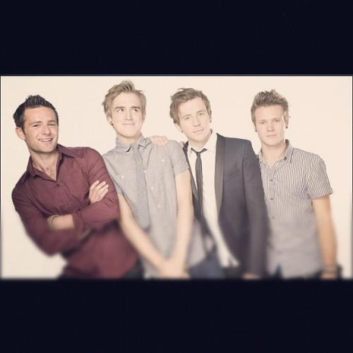 Seeing these boys today #excited #mcfly #harry #danny #dougie #tom #yorkraces #followback  (Taken with Instagram)