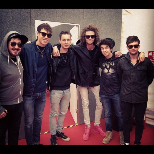 The boys and The Midnight Beast