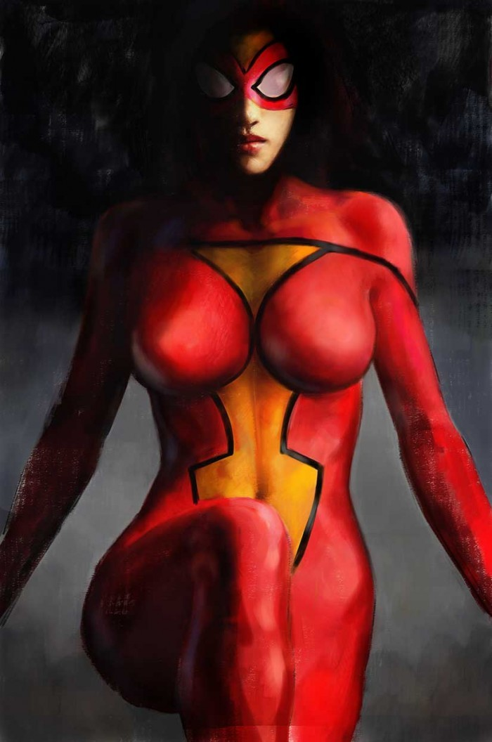 Spider-Woman, Agent of S.W.O.R.D. Episode 1. Cover: Alex Maleev.