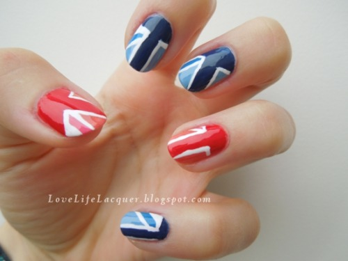 lovelifelacquer:  New blogpost! Inspired by the Great Britain WAG London 2012 Leotards. Read more here