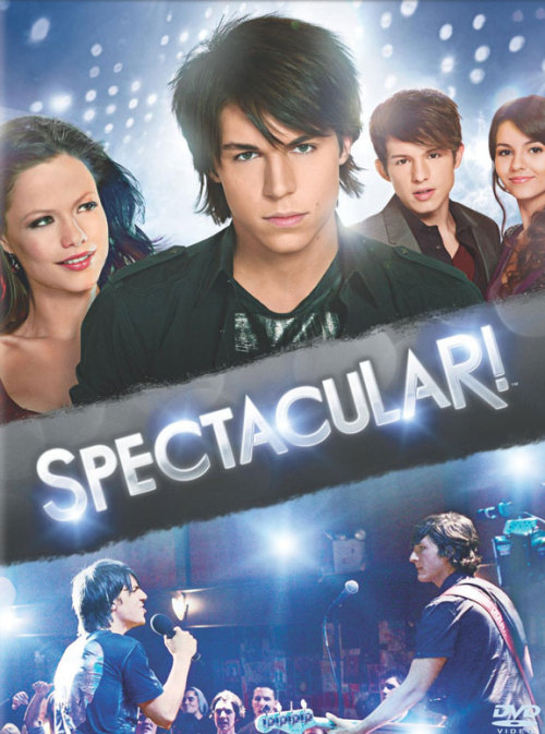 "Spectacular! (2009)  Get ready to rock the house with the Nickelodeon smash original movie Spectacular! When bad boy Nikko (Nolan Gerard Funk) gets dumped by his band, he finds the path to stardom can take some unexpected twists. Enter Courtney (Tammin Sursok), a show choir girl in need of a new star front man to help her group ""bring it"" and snag the national championship away from her arch rival Tammi (Victoria Justice). When this unlikely duo gets together, it's a rock explosion that lights up the stage in a way you've never experienced before. Featuring 10 hot new tracks from the music team behind High School Musical and hip dance moves that will have you up out of your seat.  Cast: Nolan Gerard Funk, Jesse Moss, Britt Irvin, Harris Allan, Victoria Justice Follow this blog for the neverending list of all the teen movies ever made!"