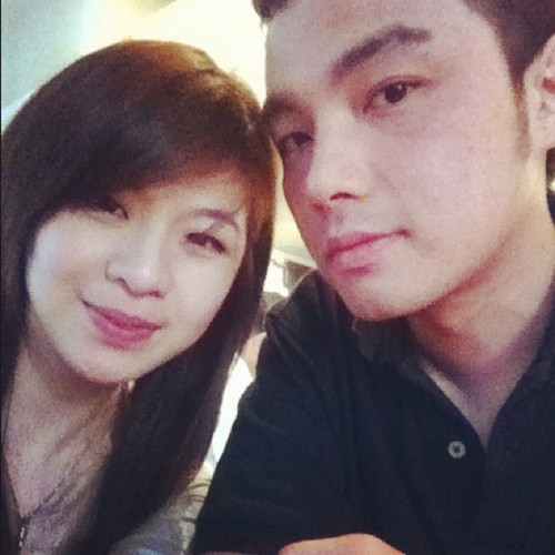 @davin_anwar #me #natural #girl #chinese #asian #couple #love (Taken with Instagram at Pizza é Birra)