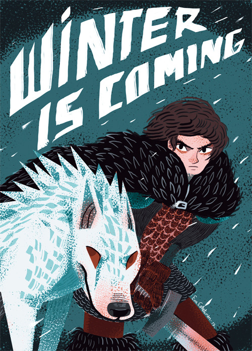 galleryofthrones:  Winter is coming by *evelmiina