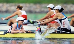 "boundforbeantown:  ""Coxswains"" isn't a verb…it's the plural form of coxswain. ""Coxes"" is the word you should be using. For somebody that has been in rowing for HOW long, Caroline Lind, I would expect you to know that. A ""digger""? Pretty sure everybody else still calls it ""catching a crab"". Good article about Mary from the Seattle Times. Wish I could find video of that race from '03…"