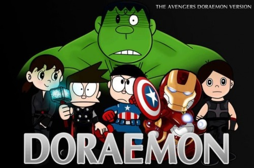 rjstore:  The Avengers, Doraemon version