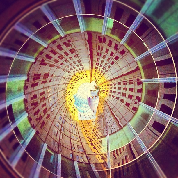#building #vortex #iphonegraphy #igers #instagood #instaswag #picoftheday #photooftheday #tinyplanet  (Taken with Instagram)