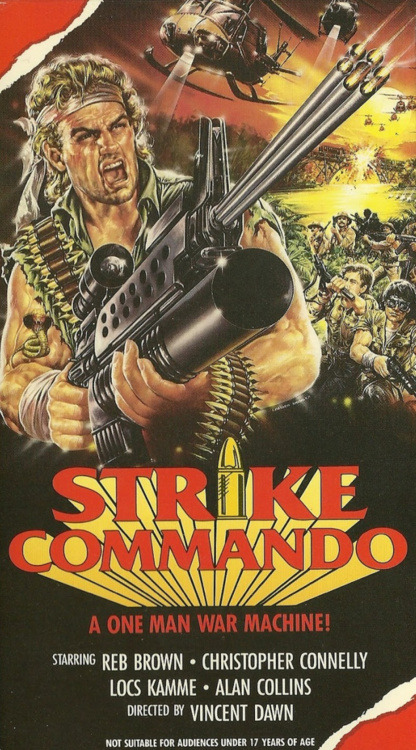 Strike Commando (1987) WATCH ENTIRE FILM HERE
