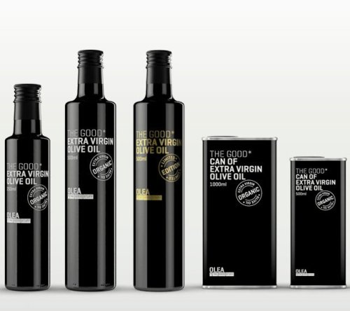 Olea Extra Virgin Olive Oil by Estudio Marisa Gallén(via Fancy)