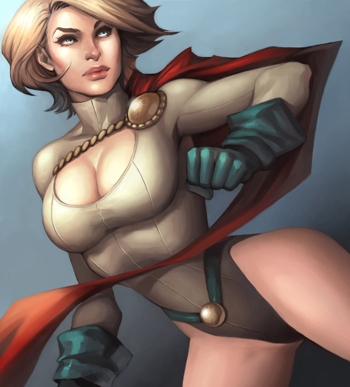 Power Girl by Kate Niemczyk